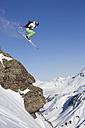 Austria, Arlberg, Albona, Skier jumping - MRF01068