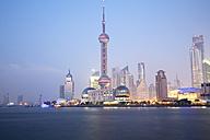 China, Shanghai, Oriental pearl TV Tower - GW00561