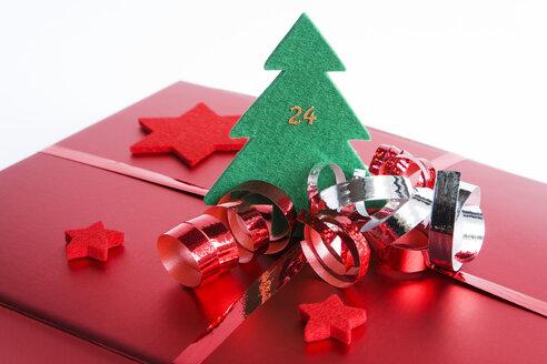 Christmas parcel, close up - GWF00596