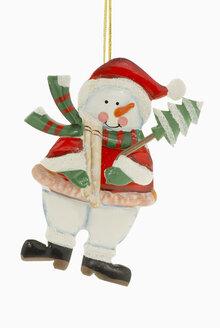 Christmas decoration, snowman - MUF00306