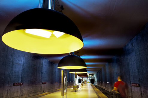 Germany, Bavaria, Munich, Westfriedhof Subway Station - MB00785