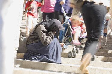 Italy, Venice, Beggar woman - HH02129