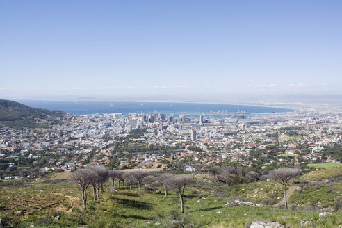 South Africa, Cape Town, view from Table Mountain - ABF00405