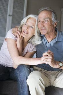 Senior couple, portrait - WESTF08242