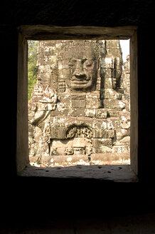 Cambodia, Angkor, Siem Reap, Bayon Temple - GA00058