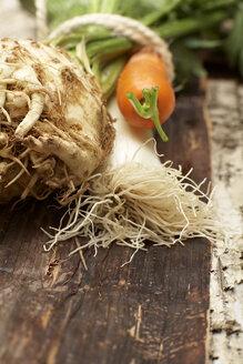 Soup vegetables, close-up - SC00230