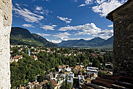 Italy, South Tyrol, Meran, Cityscape - 08825CS-U