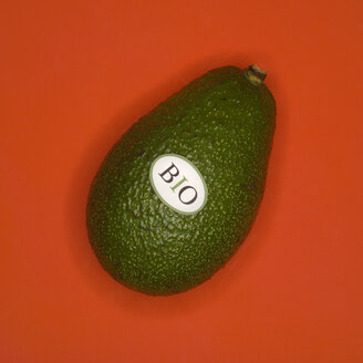 Organic Avocado, elevated view - MUF00503