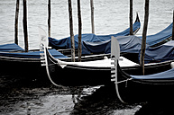 Italy, Venice, Gondolas on Grand Canal - AWDF00050