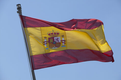 Standard of Spanish Navy, close up - THF00776