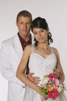 Bride and Groom, portrait - NHF00875