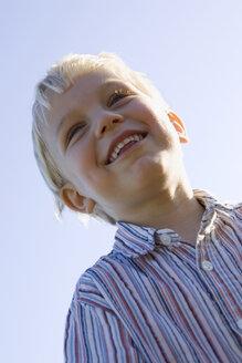 Little boy (2-3) smiling, portrait - SMO00278