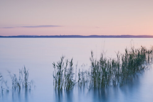 Germany, Lake Constance with afterglow - SMF00374
