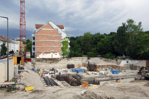 Germany, Munich, Building site - 00479LR-U