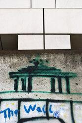 Germany, Berlin, Wall with graffiti - PMF00645