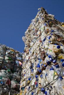 Landfill site, Stacks of Plastic waste - WDF00385