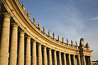 Italy, Rome, St. Peter's Square, Colonnades - GWF00889