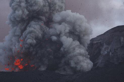 Indonesia, Anak Krakatau, Volcanic eruption - RM00351