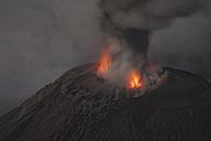 Guatemala, Santiaguito volcano, Strombolian eruption - RM00308