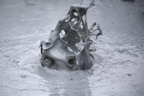 Iceland, Namaskard, Boiling mud pot - RM00295