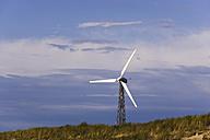 Germany, Mecklenburg-Vorpommern, Wustrow, Wind turbine - WWF00534