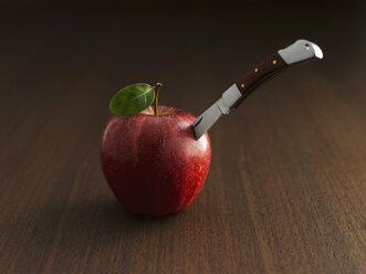 Skewered apple - KSWF00367