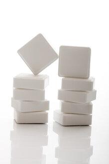 Stacks of Glucose tablets, close up - 10713CS-U