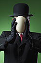 Businessman, man without face - MAE01601