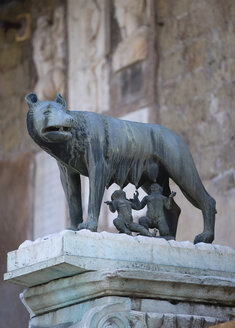 Italy, Rome, Romulus and Remus Statue - PSF00109