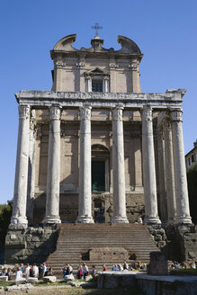 Italy, Rome, Temple of Antoninus and Faustina - PSF00103