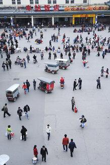China, Xi'an, Station Square - NH01091