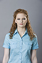Germany, Young woman, portrait - MFF00392