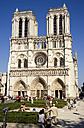 France, Paris, Notre Dame Cathedral - PSF00185