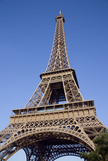 France, Paris, Eiffel Tower, low angle view - PSF00158