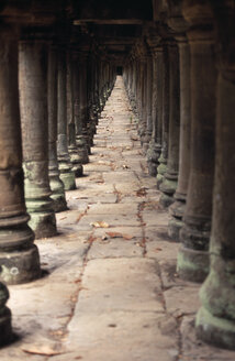 Cambodia, Siem Reap, Angkor, Baphuon Temple, Colonnades - PSF00302