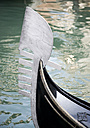 Italy, Venice, Gondola, Bow, close up - PSF00350