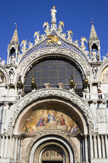 Italy, Venice, Saint Mark's Basilica, Main entrance - PSF00329