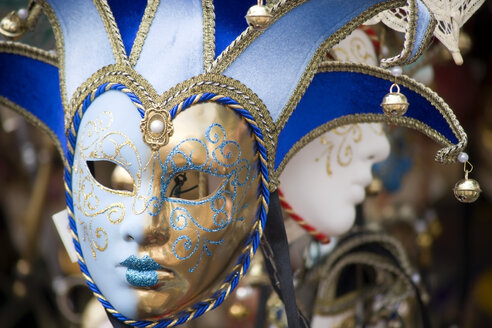 Italy, Venice, Carnival masks, close up - PSF00320