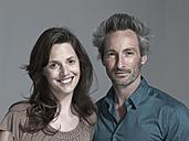 Couple, smiling, portrait - WEST12317