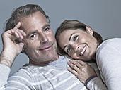 Couple, portrait, close-up - WEST12305