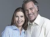 Couple smiling, portrait, close-up - WEST12299