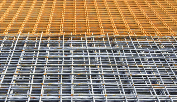 Construction steel, grid, full frame - WWF01045