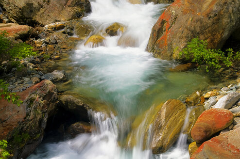 Italy, South Tyrol, Mountain stream - SMF00500
