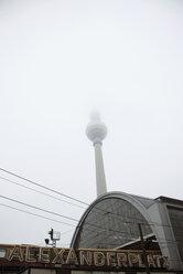 Germany, Berlin, Alexanderplatz, Television Tower - PM00818