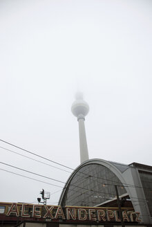 Germany, Berlin, Alexanderplatz, Television Tower - PM00818