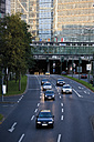Germany, North Rhine Westphalia, Düsseldorf, Rhine tunnel, Traffic in the city - 11988CS-U