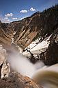 USA, Yellowstone Park, Lower Yellowstone Falls - FOF01859