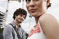 Germany, Berlin, Young couple, portrait, close-up - VVF00024