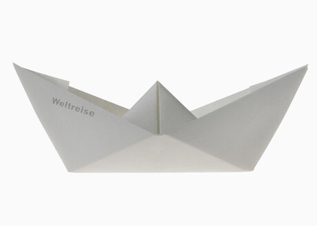 Paper boat with writing world tour - THF01092