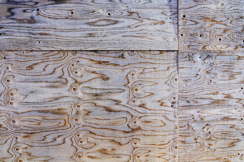 Wooden board, full frame, close-up - MBF00959
